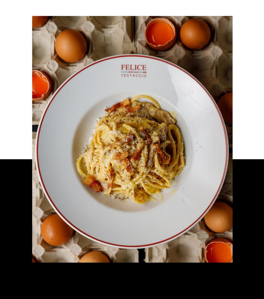 Carbonara gourmet   Felice a Testaccio