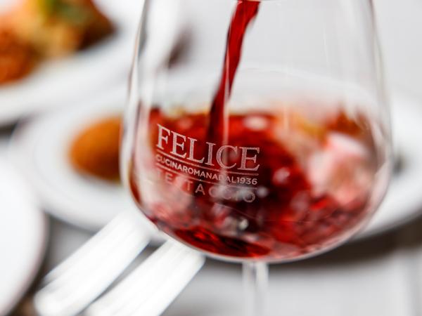 Calice di vino | Felice a Testaccio